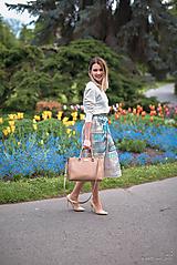 Sukne - Exkluzívna plisovaná sukňa - 10719371_