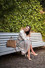 Sukne - Exkluzívna plisovaná sukňa - 10719377_
