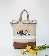 Nákupné tašky - Nákupná taška - s mačičkami - 10719143_