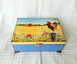 Krabičky - vidiecka krabička - 10719004_