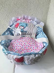078b1946fb8b Hračky - Obojstranná taška- postieľka pre bábiku. - 10719694