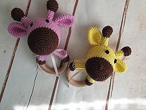 Hračky - Hrkalky žirafky - 10722996_