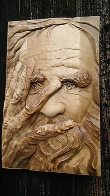 Dekorácie - Starý muž - 10722080_