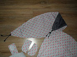 Textil - Nepremokavá clona na kočík - na mieru - 10722732_