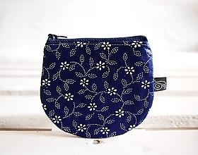 Peňaženky - Peňaženky - modrotlačové vzory - 10722174_
