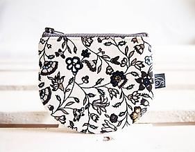 Peňaženky - Peňaženky - jemné kvietky - 10722203_