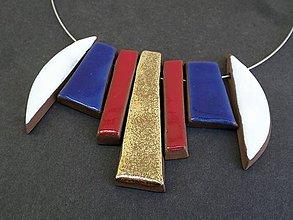 """Náhrdelníky - Náhrdelník """" Skladačka """" 7in1 č.36 - 10722812_"""