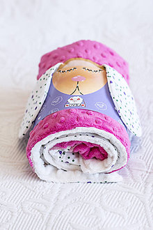 Textil - Minky deka - #dekOVKA farebná - 10722497_