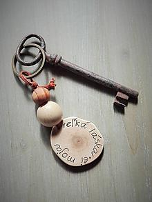 Kľúčenky - Kľúčenka_ Si moja veľká láska - 10721974_