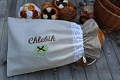 Úžitkový textil - Vrecko na chlieb... - 10723034_