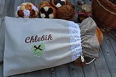 Úžitkový textil - Vrecko na chlieb... - 10723035_