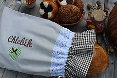 Úžitkový textil - Vrecko na chlieb... - 10723036_