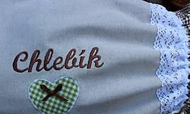 Úžitkový textil - Vrecko na chlieb... - 10723037_