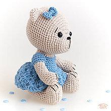 """Hračky - medvieďa """"Nezábudka"""" - 10722524_"""