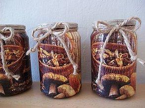 Nádoby - Dózy na sušené huby - 10722282_