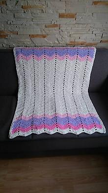 Textil - Hačkovaná deka - sladké sny princezien - 10720830_