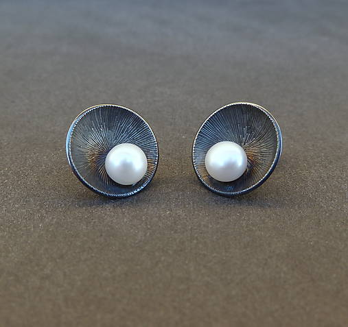 Naušnice s perlami