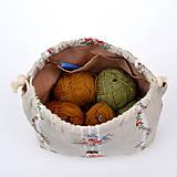 Iné tašky - Folk tvoritaška ~ projektová taška na vaše tvorenie - 10720616_