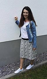 Sukne - Na slnku zmení farbu - Kúzelná sukňa - áčkový strih S/M/L - 10721636_