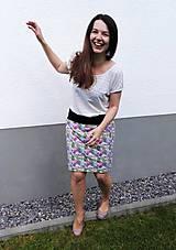 Sukne - Na slnku zmení farbu - Kúzelná sukňa - rovný strih S/M/L - 10721835_