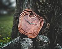 Hodiny - Artefakt 5 - Teakové drevené hodiny - 10721531_