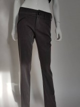 Nohavice - Biznis nohavice sivé - 10722521_