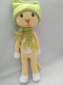Hračky - Mačička v zimnom outfite - 10722111_