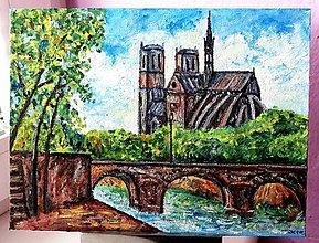 Obrazy - Katedrála Notre-Dame (Paríž) - 10721211_