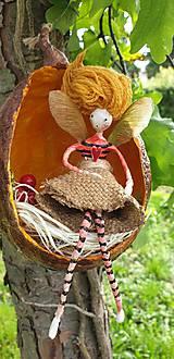 Socha - víla Enelína Gréta (závesná dekorácia) - 10723147_