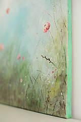 Obrazy - Kvety trojka - 10722488_