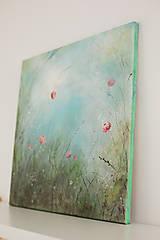 Obrazy - Kvety trojka - 10722491_