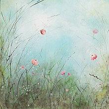 Obrazy - Kvety trojka - 10722490_