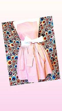 Detské oblečenie - Zásterky mama a dcérka - 10723532_