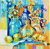 Obrazy - Zátišie s citrónom 2 - 10720727_