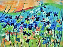 Obrazy - Malé kvetinky 2 - 10721018_