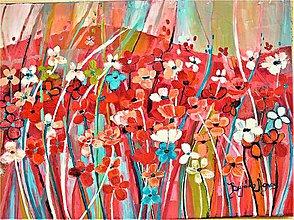 Obrazy - Malé kvetinky 1 - 10721020_