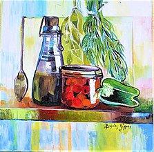 Obrazy - V kuchyni - 10721050_