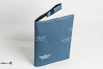 Papiernictvo - Obal na knihu otvárací - loďka - 10720573_