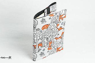 Papiernictvo - Obal na knihu otvárací - líšky - 10720586_