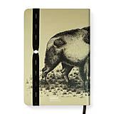 Papiernictvo - Zápisník A5 Bison - 10720421_