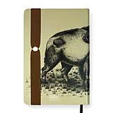 Papiernictvo - Zápisník A5 Bison - 10720428_