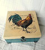Krabičky - vidiecka krabička No.2 - 10723259_