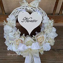 Dekorácie - svadobný veniec..Nevesta - 10722668_