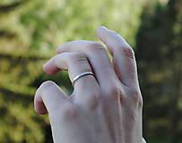 Prstene - Obrúčky s briliantmi - 10725726_