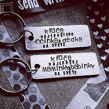 Kľúčenky - na KĽÚČE pre NAJ MAMINKU&OCINA - 10724550_