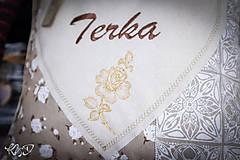 Úžitkový textil - Vankúšik pre Terku - 10725875_