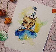 Kresby - Moja mačka - 10725769_