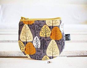 Peňaženky - Peňaženky - v zelenožltých tónoch - 10724248_