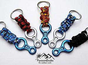 Kľúčenky - Horolezecká osma - kľúčenka - 10726826_