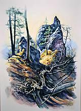 Obrazy - Vietor v Súľove - 10726492_